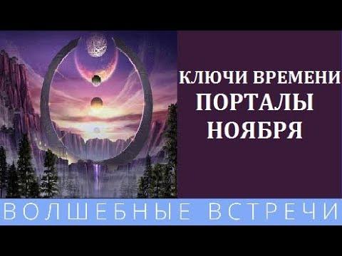 Светлана Белицкая Пространство порталов ноября.Ключи Времени