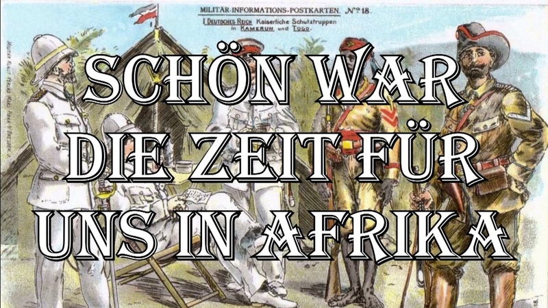 Botho Lucas Chor Schön war die Zeit für uns in Afrika Post Colonial Song German Translation