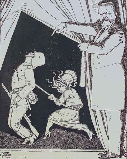 Легенда об ударе ножом в спину. После поражения Германии в Первой мировой войне в стране начали появляться заговоры о том, что военные усилия были разрушены внутренними силами. Такие теории