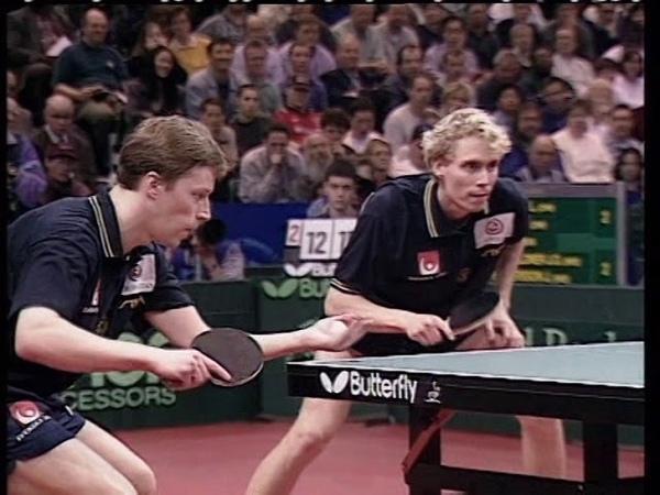 WTTC 1997 Kong linghui/Liu Guoliang vs Waldner/Persson