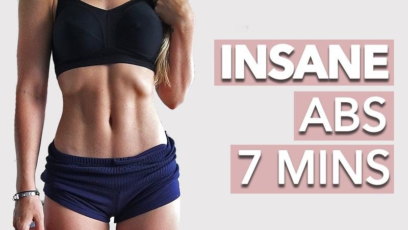 Holly Dolke - Insane Abs Workout (7 Minutes Of Pain!) | Короткая тренировка пресса на полу