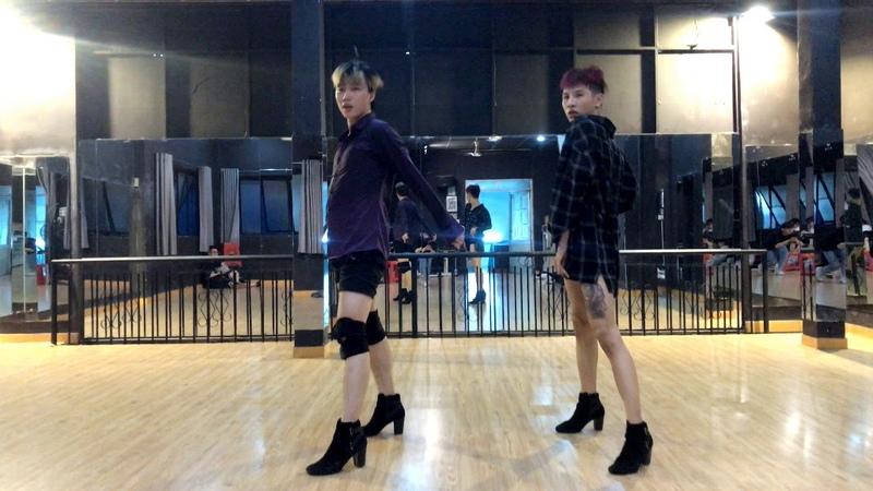 Dance Practice Fall In Love HTL Bin Ga Pee Pee