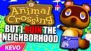 Animal Crossing but I ruin the neighborhood