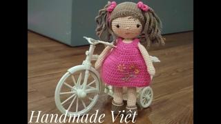 Hướng dẫn móc búp bê Zoe (phần 3) - Crochet a cute doll (part 3)