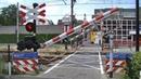 Spoorwegovergang Oss Dutch railroad crossing