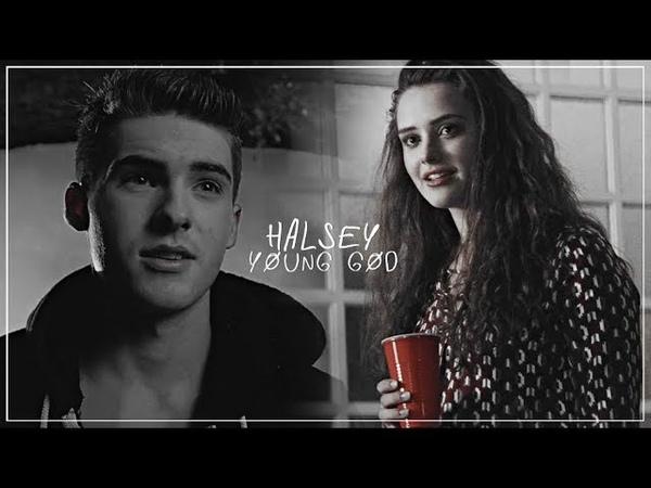 Halsey – young god   traduction française (hannah baker theo raeken)