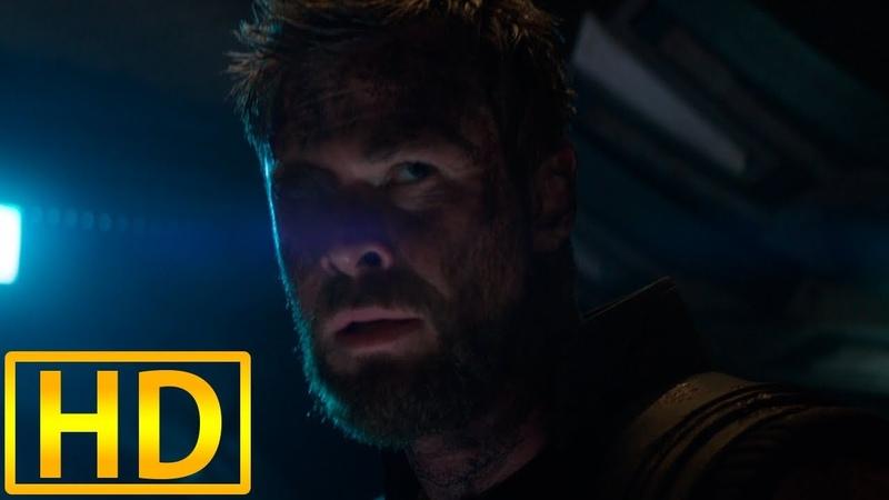 Стражи галактики спасают Тора. Мстители: Война бесконечности /2018/