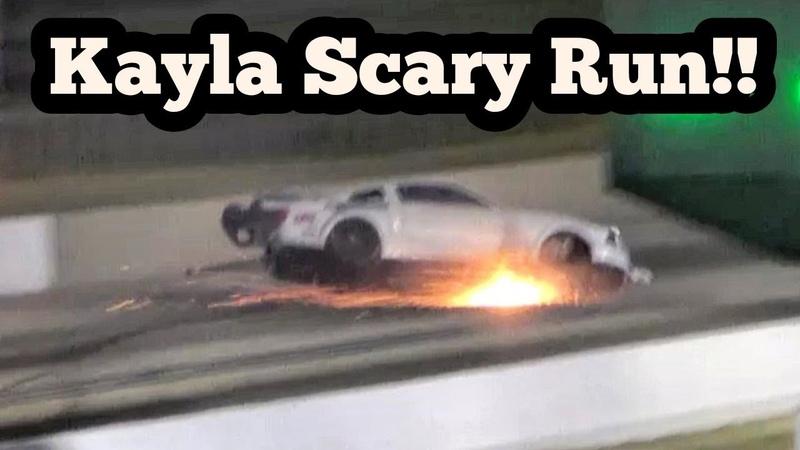 Kayla Morton's Scary Run vs Kye Kelley at Route 66 No Prep Kings