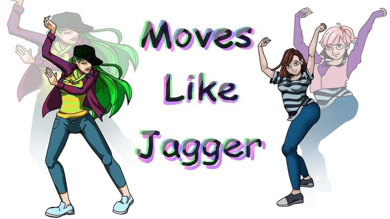 Moves Like Jagger meme Collab .