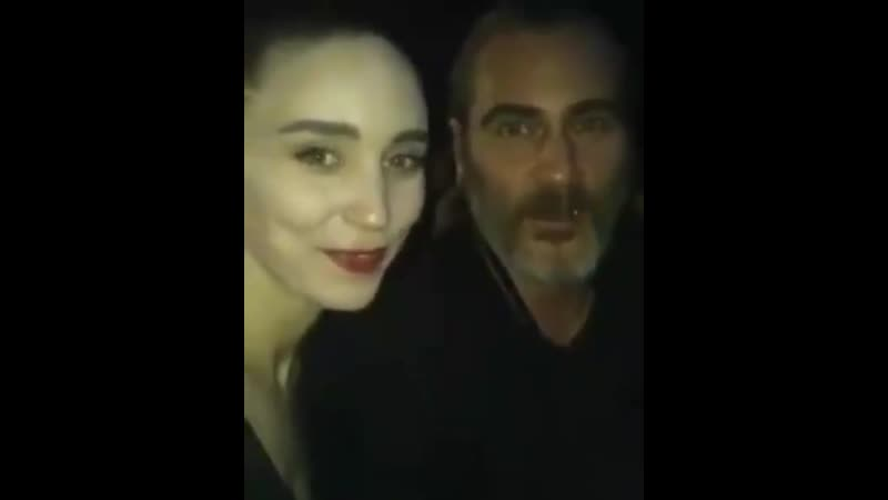Хоакин Феникс и Руни Мара на премьере фильма Доминион июль 2018