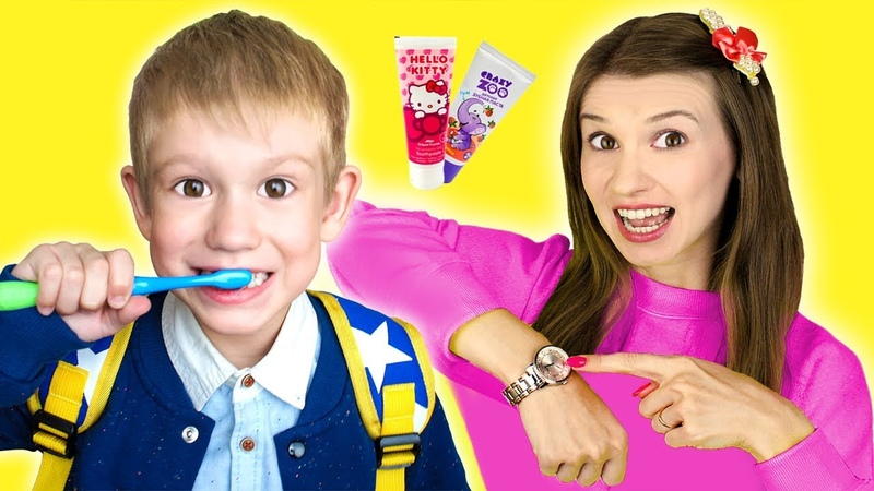 Put On Your Shoes Song | Tim Pretend Play Morning Routine Brush Teeth - Nursery Rhymes Kids Songs