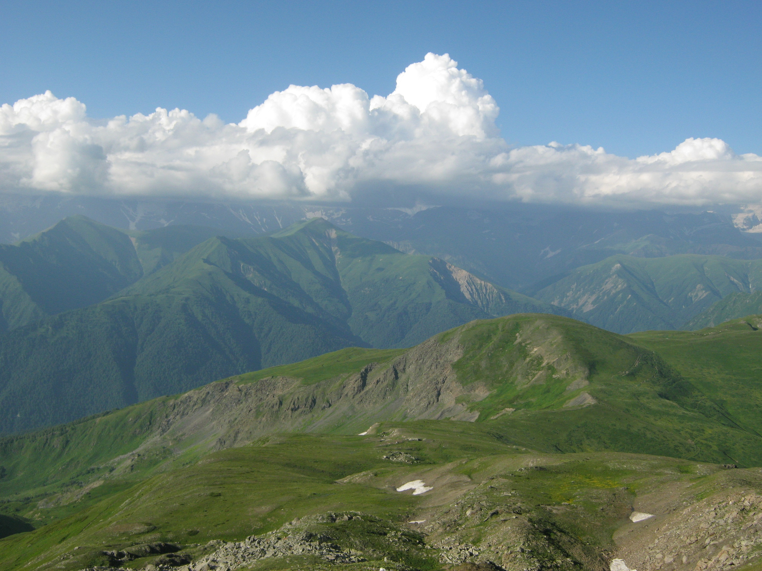 на границе между Нижняя Сванетия и Рача