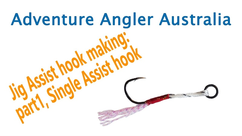 How to Make: Single assist hook, jigging hook, micro jigging