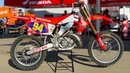 Inside Ken Roczen's Factory Honda CR250 2 Stroke Motocross Action Magazine