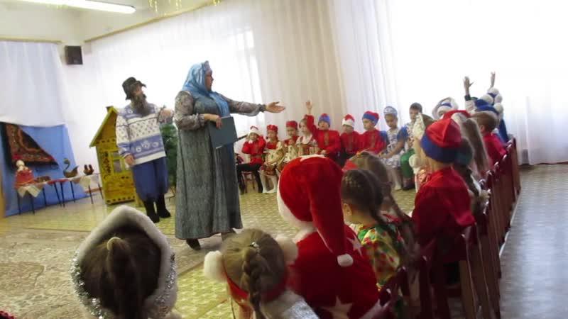 мастер класс в 378 детском саду Русское чудо сибирские валенки 0382
