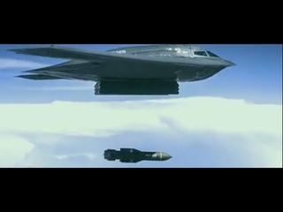 США сбросили две ЦАРЬ-БОМБЫ(GBU-57)Massive Ordnance Penetrator (MOP). Кадры испытаний