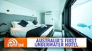Australia's first underwater hotel opens on the Great Barrier Reef Sunrise