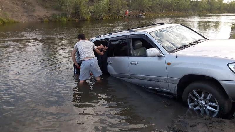 Подборка неудач на бездорожье. Водные преграды - мочим и топим авто. OffRoad. 1 Перезалив