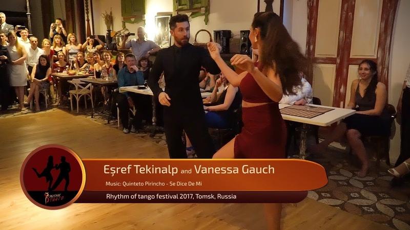 Esref Tekinalp and Vanessa Gauch 3 4 RTF 2017 Tomsk Russia