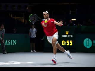 Karen Khachanov vs Denis Shapovalov | Russia  Canada | Davis Cup by Rakuten Madrid Finals