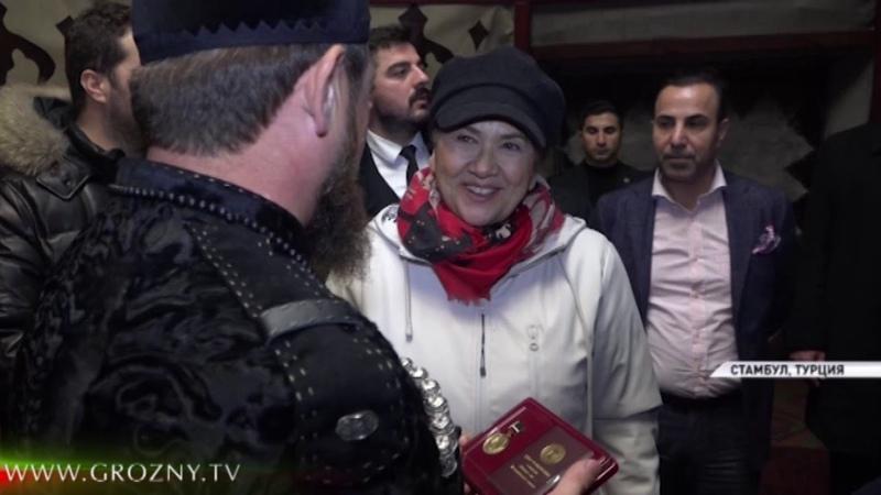Рамзан Кадыров побывал на съемочной площадке сериала Воскресший Эртугрул в Турции