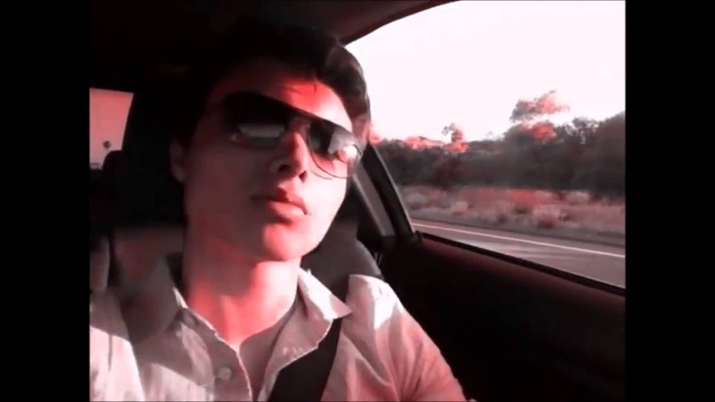 Elliot Rodger riding in to the sunset