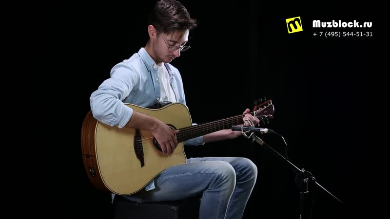 Lag THV 20DCE демонстрация самых популярных эффектов для акустической гитары