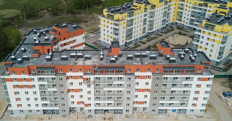 Отчет о ходе строительства ЖК «Апрель» май 2020, изображение №30
