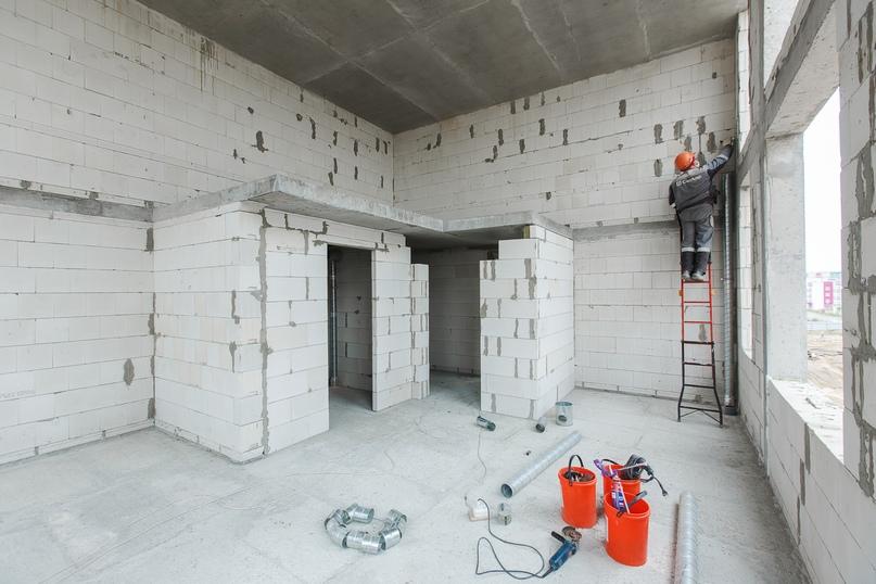 Отчет о ходе строительства квартал «Среда» май 2020, изображение №6