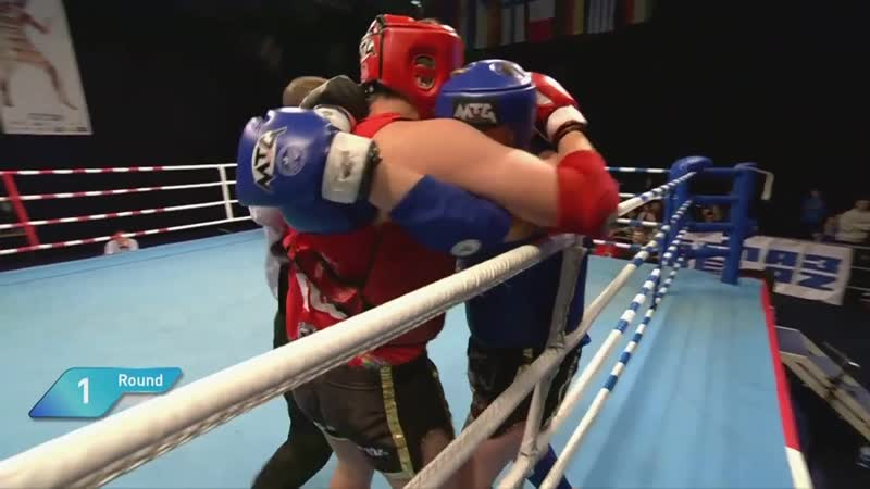 European Muaythai Championships 2019, Day 5, Semifinal bouts, Ring A_Trim.mp4