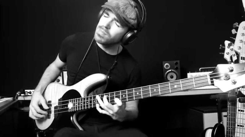 What a Wonderful World Solo Bass Arrangement by Miki Santamaria