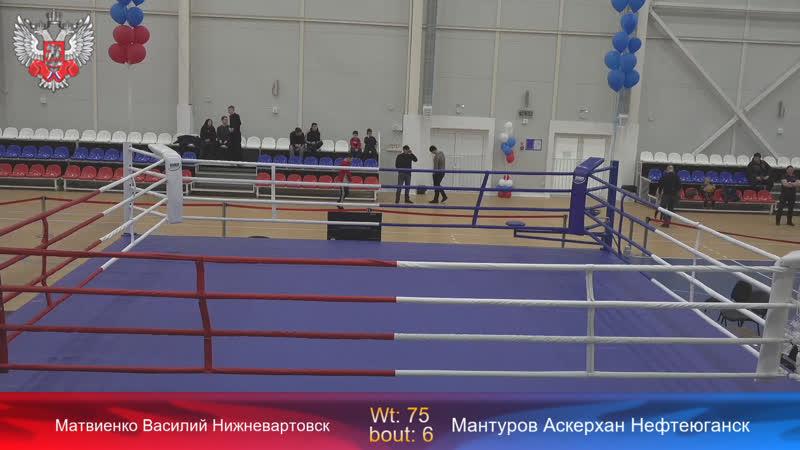 Первенство РССС по боксу на призы змс Малетина и Макаренко День 4