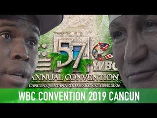 Конвенция WBC / Adonis Stevenson, Vinny Paz, Roberto Duran и другие