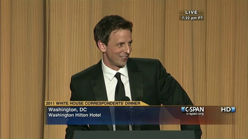 C-SPAN Seth Meyers remarks at the 2011 White House Correspondents Dinner