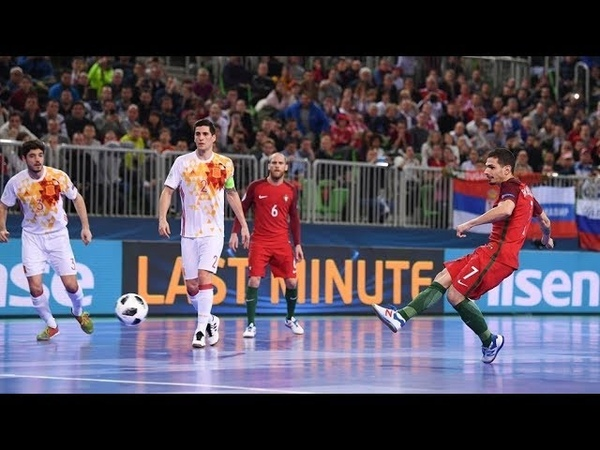 Portugal vs Spain Highlights All Goals : Final Futsal EURO 2018