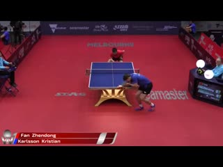 Fan Zhendong vs Kristian Karlsson | Australian Open 2019 (R32)