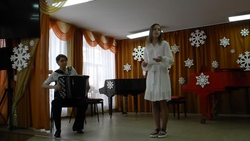 Белый снег К Лапшина концертм р Орехова Л Областной святочный певческий фестиваль Музыкальные собрания