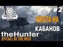 TheHunter Call of the Wild 2 Прохождение - Медвежья Тайга Охота на Кабанов