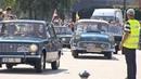 Vilniuje prasidėjo neįprastas žygis 200 mašinų išriedėjo atkartoti Baltijos kelio