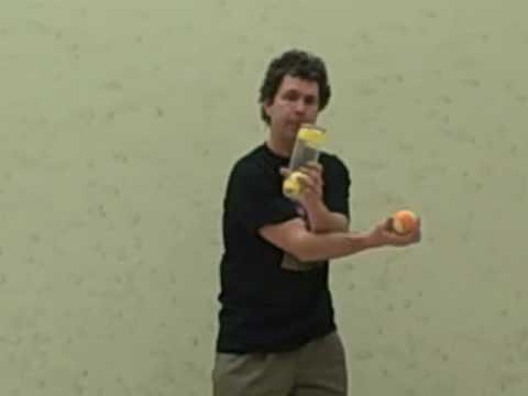 Dan Holzman Tennis Ball And Can