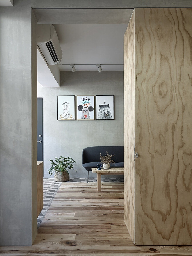 Ji Apartment, Taipei / KC Design Studio