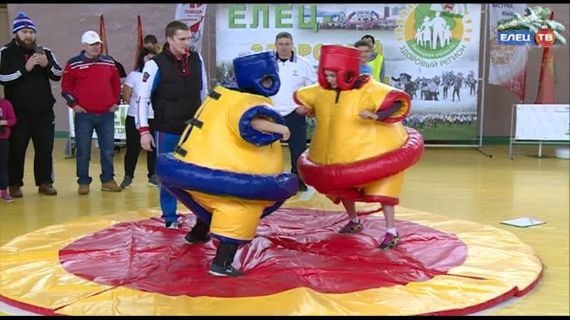 Когда участие важнее победы в Ельце прошли соревнования среди семей Мама папа я спортивная семья ЗдоровыйрегионЕлец