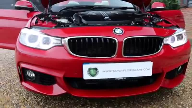 BMW 4 Series 3 0 435d M Sport xDrive Sport Automatic finished Melbourne Red Meta