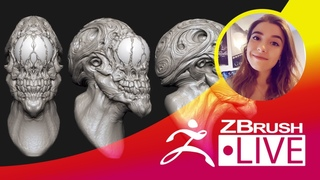Ashley A. Adams - Creature & Character Concept Sculpting - Episode 48
