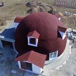 Монолитный купол из бетона