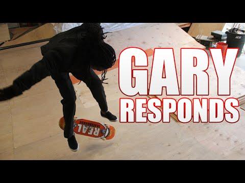 Gary Responds To Your SKATELINE Comments - Dane Burman Nollie Heel, Shane Oneill Janoski, Gino