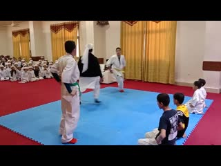 What a nice fight of kyokushin karate