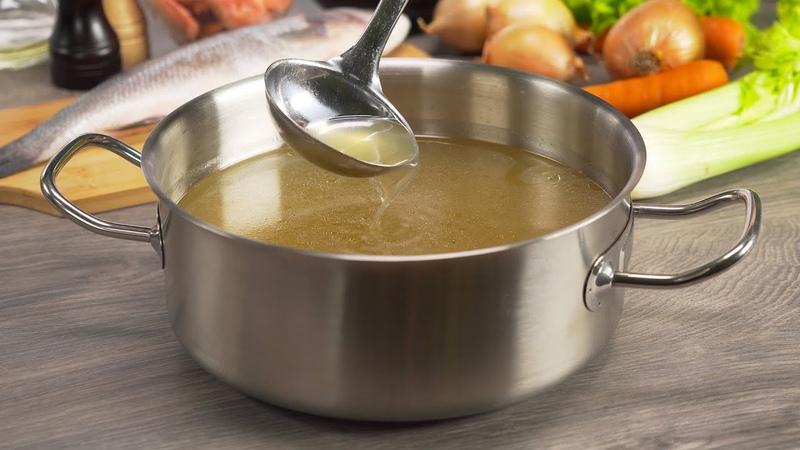 РЫБНЫЙ БУЛЬОН ароматный аппетитный и наваристый основа вкусного блюда Рецепт от Всегда Вкусно