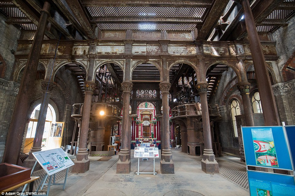 Crossness Pumping Station: