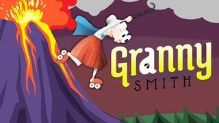 РЕАКТИВНАЯ БАБУЛЯ в ПОГОНЕ за ВОРИШКОЙ #3 Безумные гонки внутри вулкана ВЕСЁЛАЯ ИГРА Granny Smith